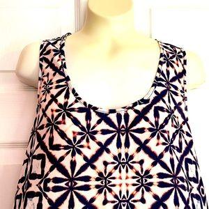 Three eighty two sleeveless blouse